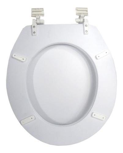 assento sanitário almofadado branco