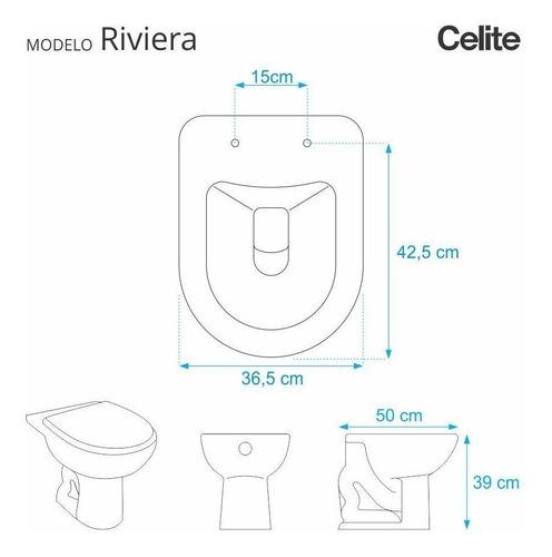 assento sanitário almofadado riviera pergamon p/ vaso celite