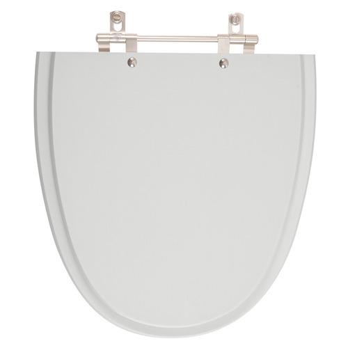 assento sanitário aloha cinza prata para louça celite