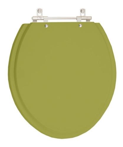 assento sanitário azaléa verde itapoã para louça celite