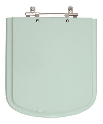 assento sanitário bali verde água para louça incepa