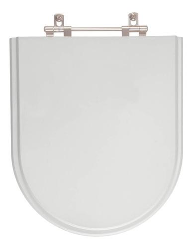 assento sanitário carrara cinza real (claro) para vaso deca