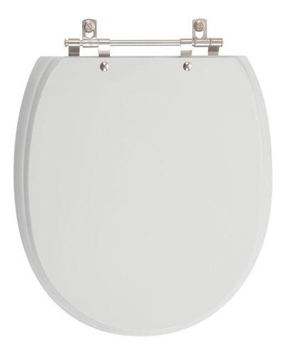 assento sanitário de ville cinza real para louça deca