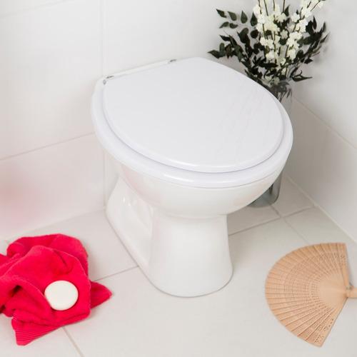 assento sanitário flamingo branco para louça incepa
