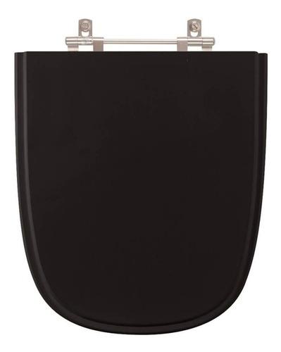 assento sanitário ibiza preto para louça incepa