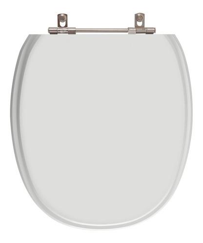 assento sanitário massima cinza platina para louça incepa