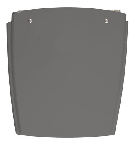 assento sanitário nuage cinza ambar para louça incepa
