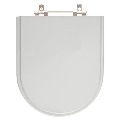 assento sanitário omega cinza real - para louça deca
