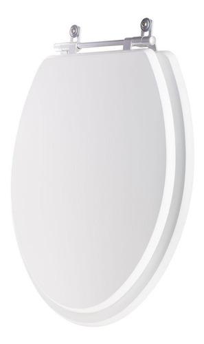 assento sanitário oval branco p/ todas as louças