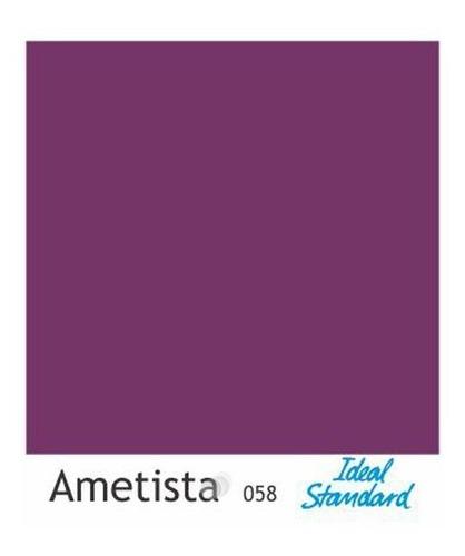 assento sanitário paris roxo ametista p/ louça ideal standard