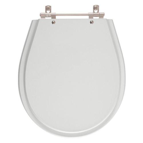 assento sanitário poliéster avalon sterling silver para ideal standard