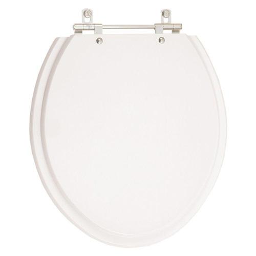 assento sanitário poliéster buzios branco para louça hervy