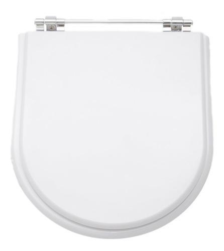 assento sanitário poliéster calypso branco p/ incepa