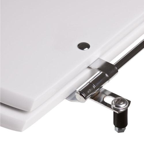 assento sanitário poliéster ezedra bone para louça ideal standard