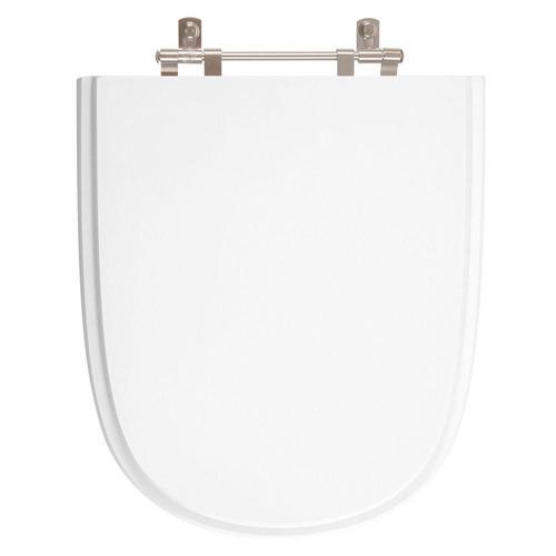 assento sanitário poliéster ezedra branco p/ ideal standard