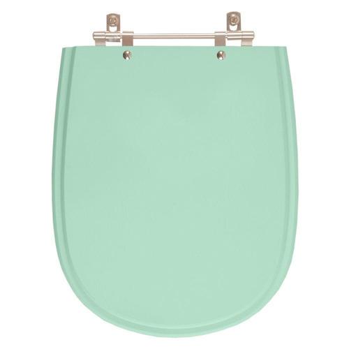 assento sanitário poliéster paris verde claro p/ ideal standard