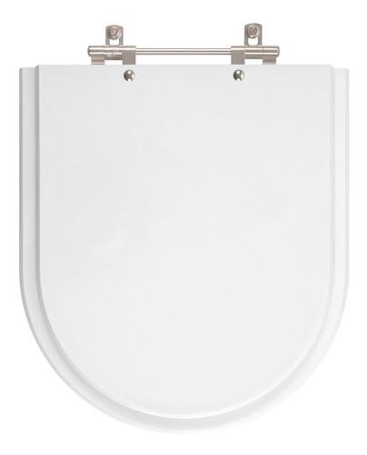 assento sanitário poliéster smart branco para louça celite