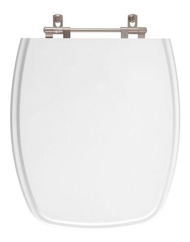 assento sanitário poliéster stylus branco para louça celite