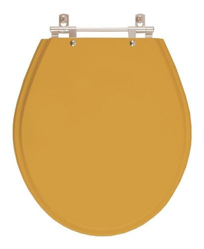 assento sanitário ravena bege castor para louça deca