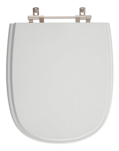 assento sanitário sabatini cinza claro para louça icasa