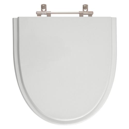 assento sanitário studio cinza platina para louça incepa