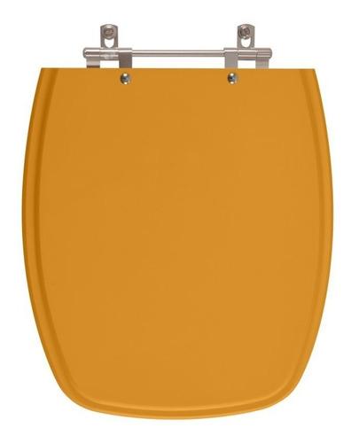 assento sanitário stylus amarelo terra para louça celite