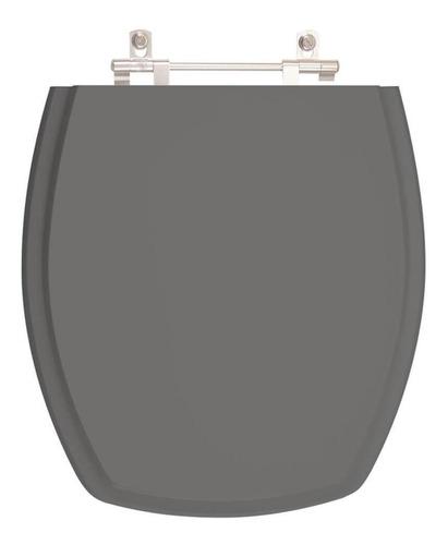 assento sanitário thema cinza ambar p/ louça incepa