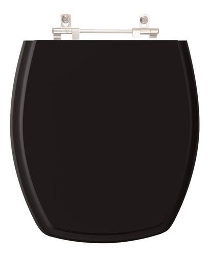 assento sanitário thema preto para louça incepa