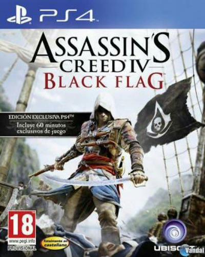 assessins creed iv ps4 black flag