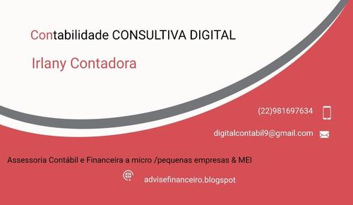 assessoria contábil e financeira a micro e pequenas empresas