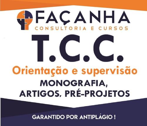 assessoria integral a monografia, tcc, artigo e pré-projeto
