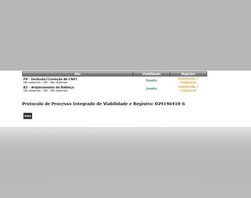 assessoria online em registros jucesp redesim