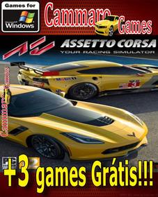 Assetto Corsa Atualizado+ Completo Em Pt-br +3 Games Grátis