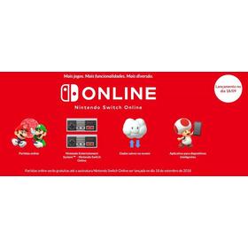 Assiatura Nintendo Switch Online Pronta Entrega