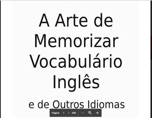 assimil o novo inglês sem custo+ebook memorizaçao pra idioma