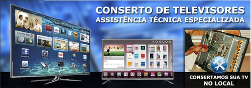 assistencia tecnica tv lg samsung - especializada lcd led