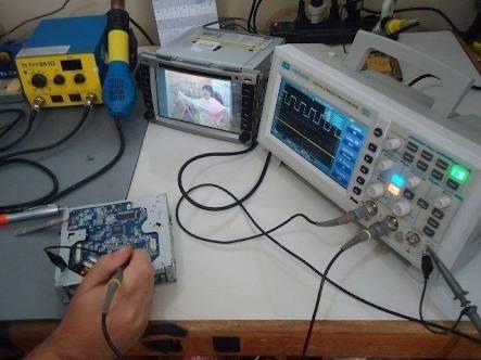 assistência conserto de multimídia m1, aikon e instalação!
