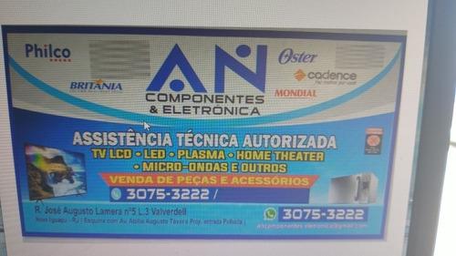 assistência técnica autorizada de tvs,som e eletro-eletronic
