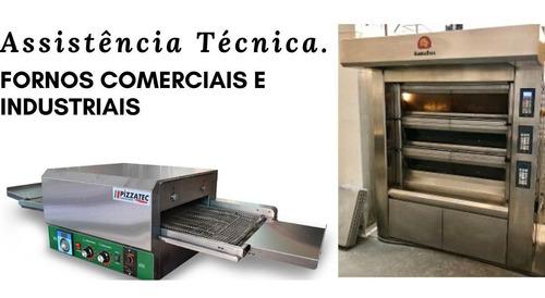 assistência técnica de máquinas