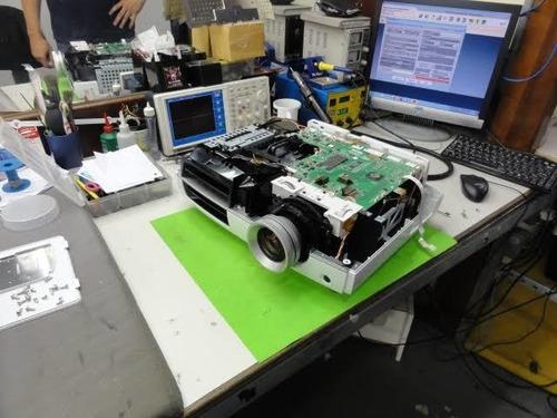 assistência técnica especializada em projetores e data show