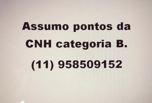 assumo pontuação  categoria b (cnh )