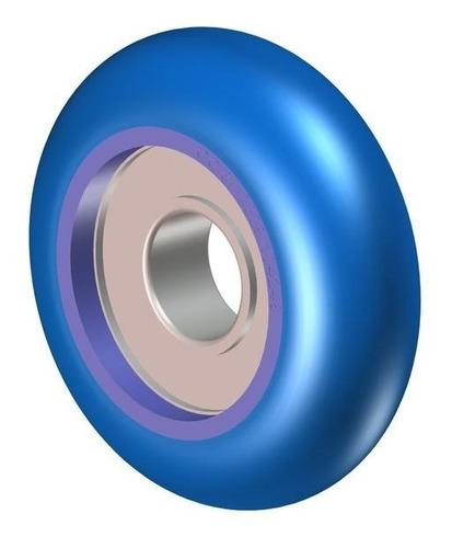 assy rounded roller - octane fitness 104247-001