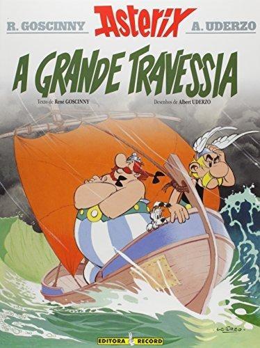 asterix e a grande travessia coleção uma aventura de asterix