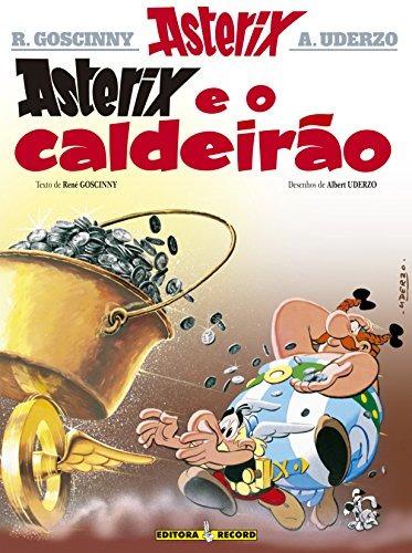asterix e o calderão coleção as aventuras de asterix de rené
