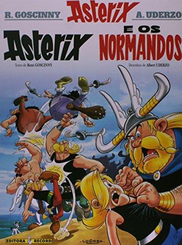 asterix e os normandos coleção as aventuras de asterix de re
