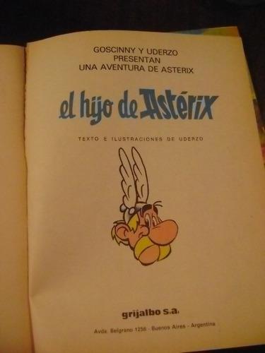 asterix el hijo de asterix   ed junior   editorial grijalbo
