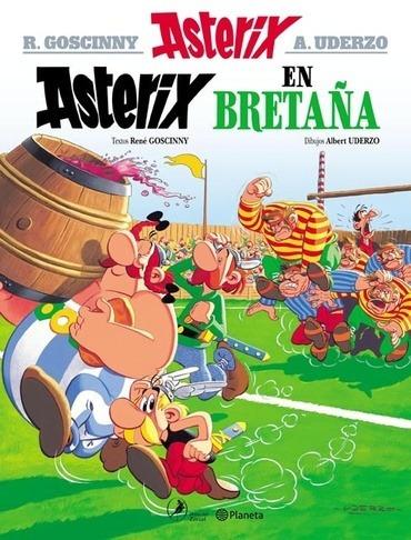 asterix en bretaña - asterix 8 - rene goscinny