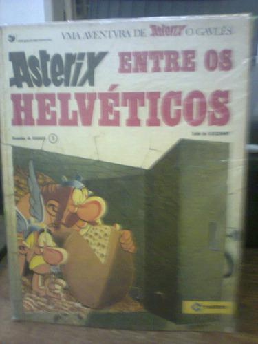asterix entre os helvéticos  - ed. cedibra