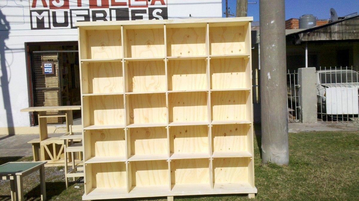 Astilla Muebles: Biblioteca De Pino - $ 3.600,00 en Mercado Libre
