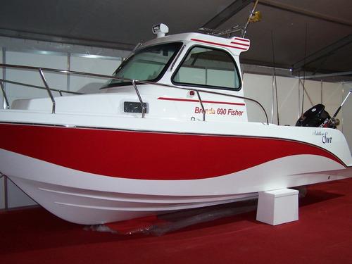astillero sur brenda 690 fisher lancha cudy y cabinada
